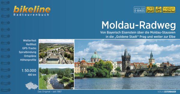 Moldau-Radweg, Bikeline, Esterbauer