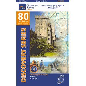 OSI 80 Cork Wanderkarte 1:50.000 - Ordnance Survey Ireland