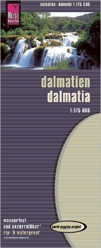 Dalmatien Landkarte 1:175.000, Reise Know-How
