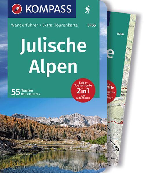 Julische Alpen mit Karte, Kompass Wanderführer