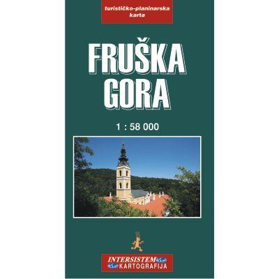Fruska Gora Wanderkarte 1:58.000; Intersistem Kartografija
