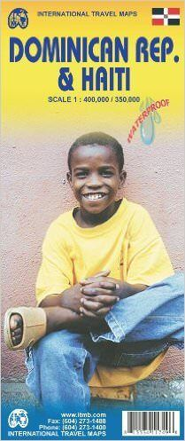 Dominikanische Rep. 1:400.000 & Haiti 1:350.000, ITM