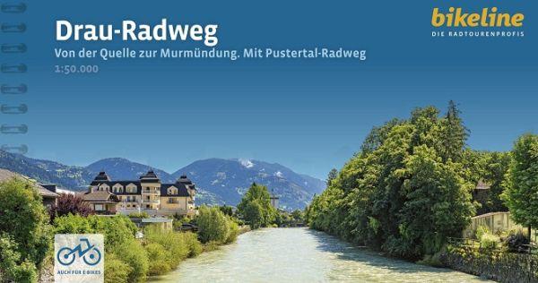 Drau-Radweg, Bikeline Radwanderführer mit Karte, Esterbauer