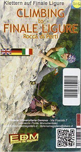 Climbing to Finale Ligure, Rocca di Perti - Kletterkarte