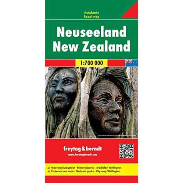 Neuseeland, Straßenkarte 1:700.000, Freytag und Berndt