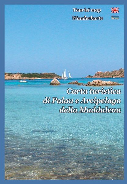Sardinien Wanderkarte: Palau und das Maddalena-Archipel 1:40.000
