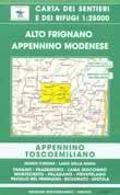 Edition Multigraphic, Alto Frignano Blatt 17, 1:25.000