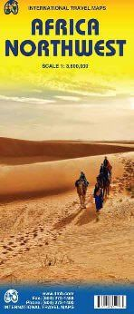 Nordwest Afrika Landkarte 1:3.800.000, ITM
