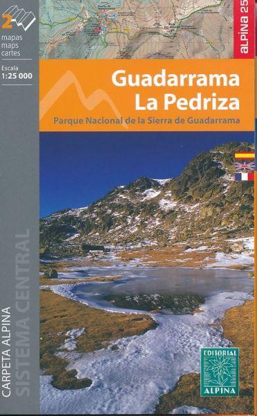 Guadarrama - La Pedriza Wanderkarte 1:25.000 - Editorial Alpina