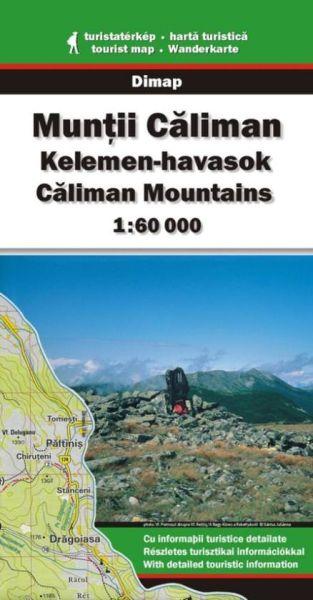 Karpaten Wanderkarte: Muntii Caliman / Caliman-Gebirge