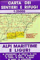 Edition Multigraphic 111/112, Alpi Marittime e Liguri, Ligurien, 1:25.000