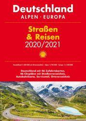 Deutschland, Alpen, Europa Straßen- und Reisen Atlas, 1:300.000/1:750.000, Shell