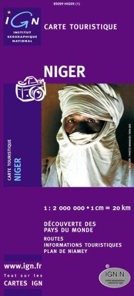 Niger Straßenkarte 1:2.000.000, IGN
