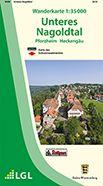 Unteres Nagoldtal - Pforzheim Wanderkarte 1:35.000 Schwarzwaldverein