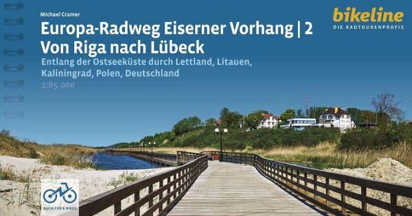 Eiserner Vorhang Ostseeküsten-Radweg, Bikeline Radtourenbuch
