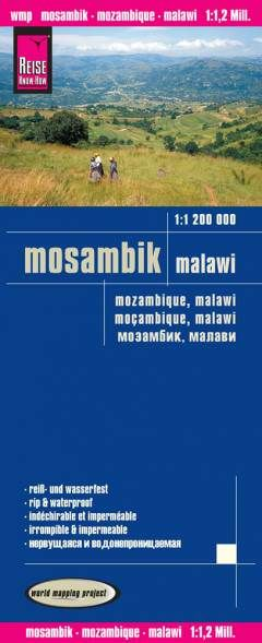 Mosambik, Malawi Landkarte 1:1.200.000, Reise Know-How