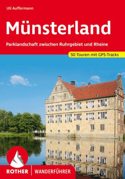 Münsterland Wanderführer, Rother