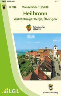 Heilbronn W218, Wanderkarte 1:25.000, Schwäbischer Albverein