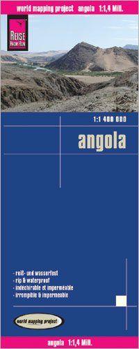 Angola Landkarte 1:1.400.000, Reise Know-How