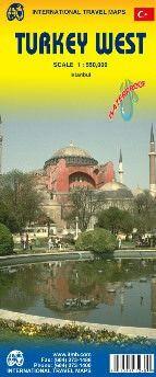West Türkei Landkarte 1:550.000, ITM