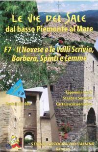 Wanderkarte für il Novese & le Valli Scrivia, Borbera, Spinti & Lemme in Ligurien Bl. 7