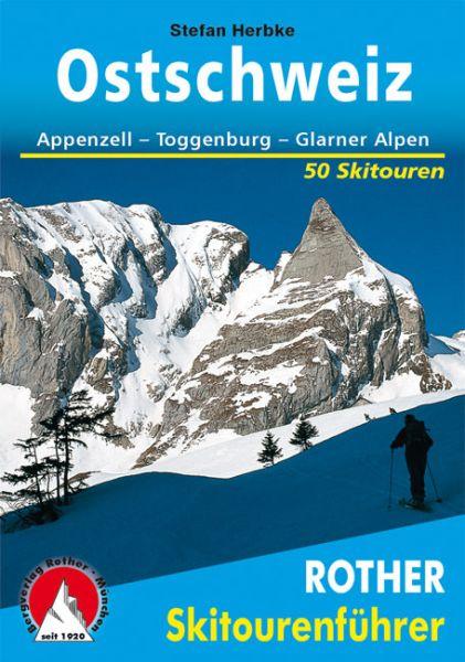 Ostschweiz Rother Skitourenführer