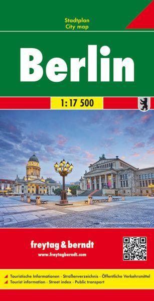 Berlin, Stadtplan 1:17.500, Freytag und Berndt