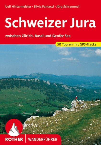 Schweizer Jura Wanderführer, Rother
