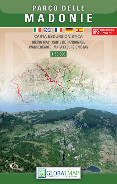 Sizilien Wanderkarte: Parco delle Madonie 1:50.000