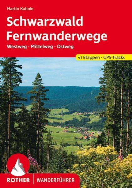 Schwarzwald Fernwanderwege, Rother Wanderführer