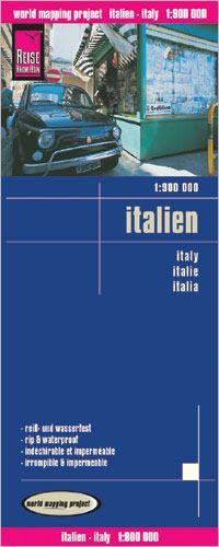 Italien Landkarte 1:900.000, Reise Know-How