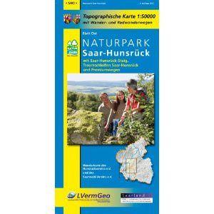 Naturpark Saar-Hunsrück Ost Wanderkarte / Radkarte 1:50.000