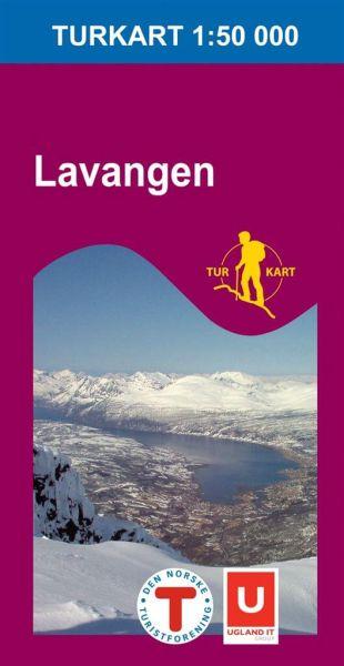 Lavangen Wanderkarte 1:50.000 – Norwegen, Turkart 2732 von Nordeca