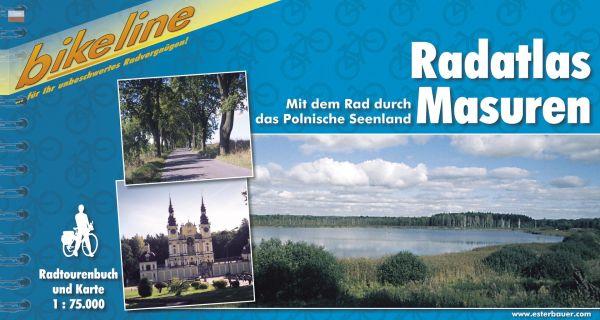 Masuren, Bikeline Radwanderführer mit Karte, Esterbauer