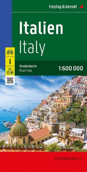 Italien, Straßenkarte 1:600.000, Freytag und Berndt