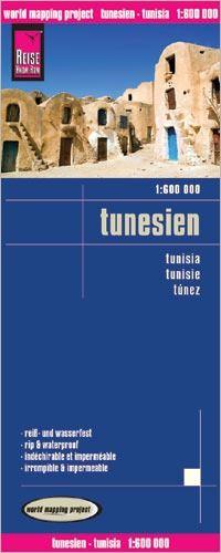 Tunesien Landkarte 1:600.000, Reise Know-How