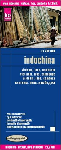 Indochina Landkarte 1:1.200.000, Reise Know-How