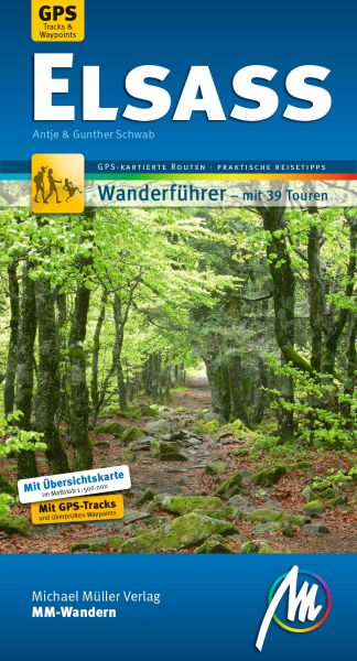 Elsass, MM-Wandern Wanderführer, Michael Müller Verlag