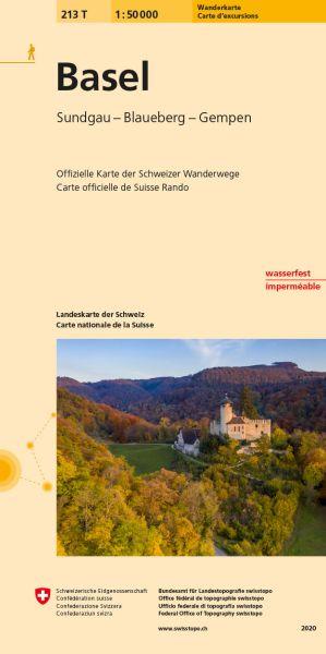 213 T Basel Wanderkarte 1:50.000 - Swisstopo