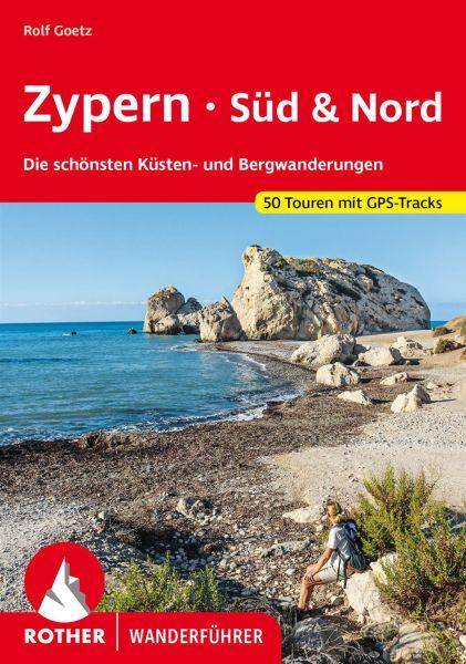 Zypern - Süd & Nord Wanderführer, Rother