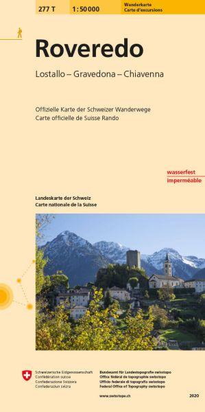 277 T Roveredo Wanderkarte 1:50.000 - Swisstopo