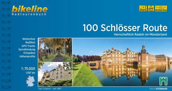 100 Schlösser im Münsterland, Bikeline, Esterbauer