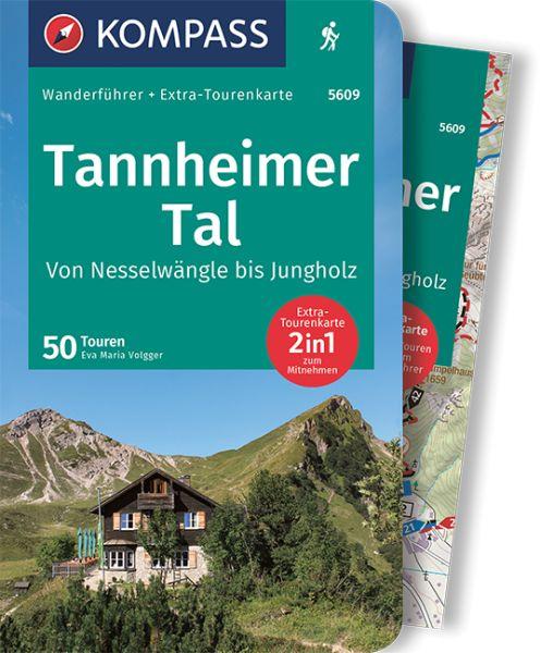 Tannheimer Tal Karte.Tannheimer Tal Mit Karte Kompass Wanderfuhrer