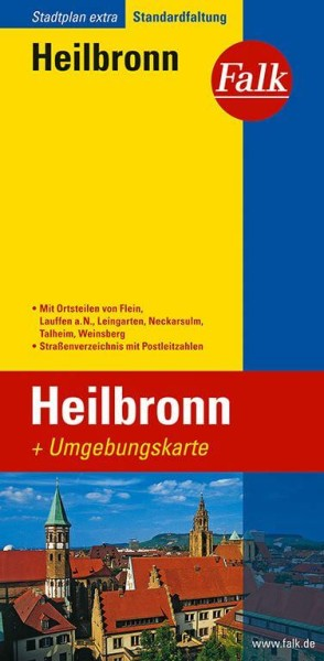Falk Stadtplan extra Heilbronn