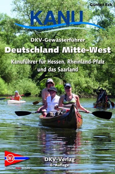Deutschland Mitte-West, Kanuführer für Hessen, Rheinland-Pfalz und das Saarland, Deutscher Kanu-Verb