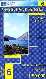 OSI 6 Donegal (CENT) Wanderkarte 1:50.000 - Ordnance Survey Ireland