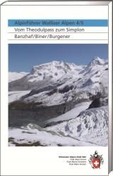 Walliser Alpen 4/5, SAC Alpinführer