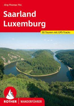 Luxemburg - Saarland Wanderführer, Rother