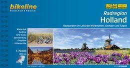 Holland, Bikeline Radwanderführer mit Karte, Esterbauer