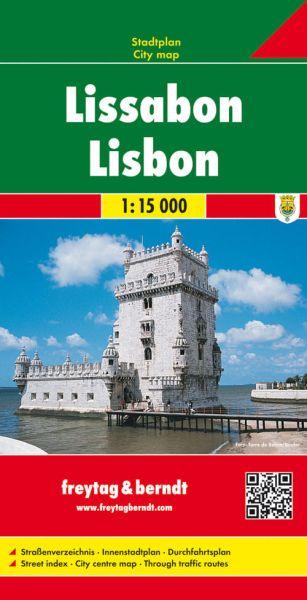 Stadtplan Lissabon 1:15.000, Freytag und Berndt